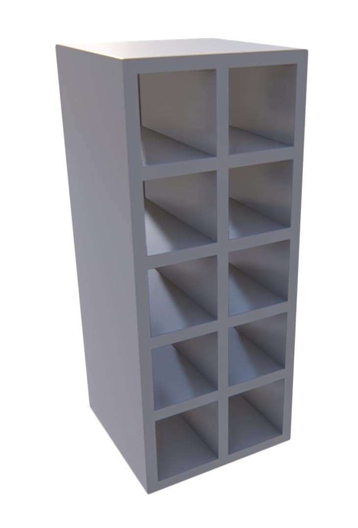 300 mm Wall Wine Racks