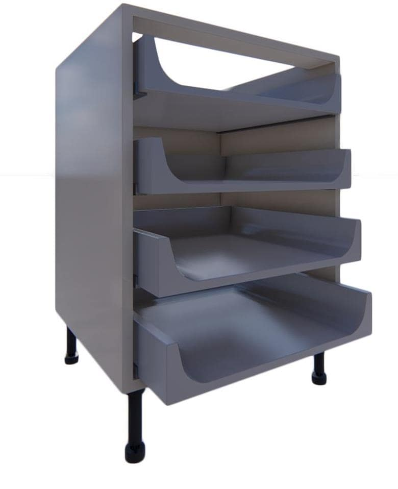 Blumotion 4 Drawer Units