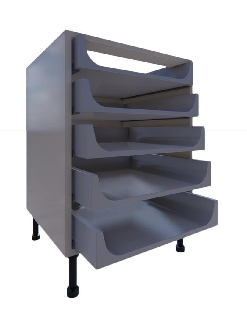 Blumotion 5 Drawer Units