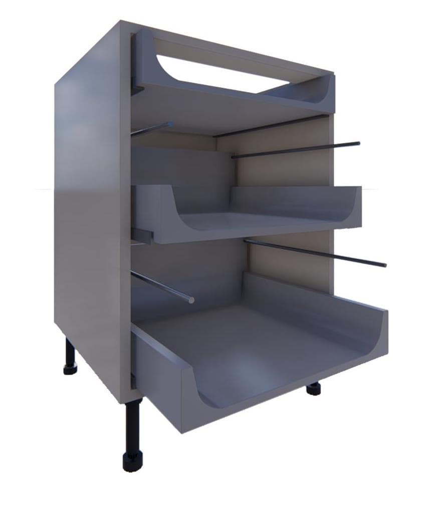 Blumotion 3 Drawer Units