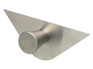 C1 Conical knob with triangular backplate, 29mmd