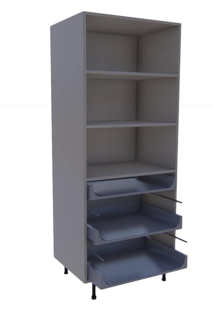 Larder Units 3 Drawers
