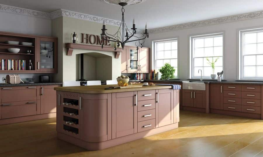Paintable Shaker kitchen